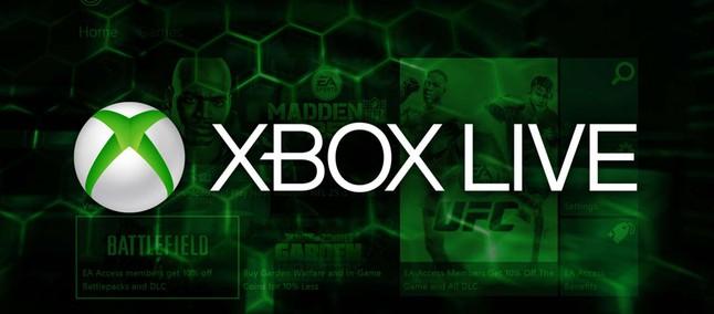 Cartão Presente Xbox Live